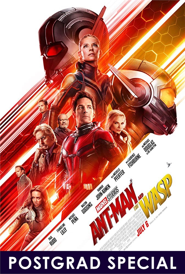 PostGrad Special Screening: Ant-Man and the Wasp