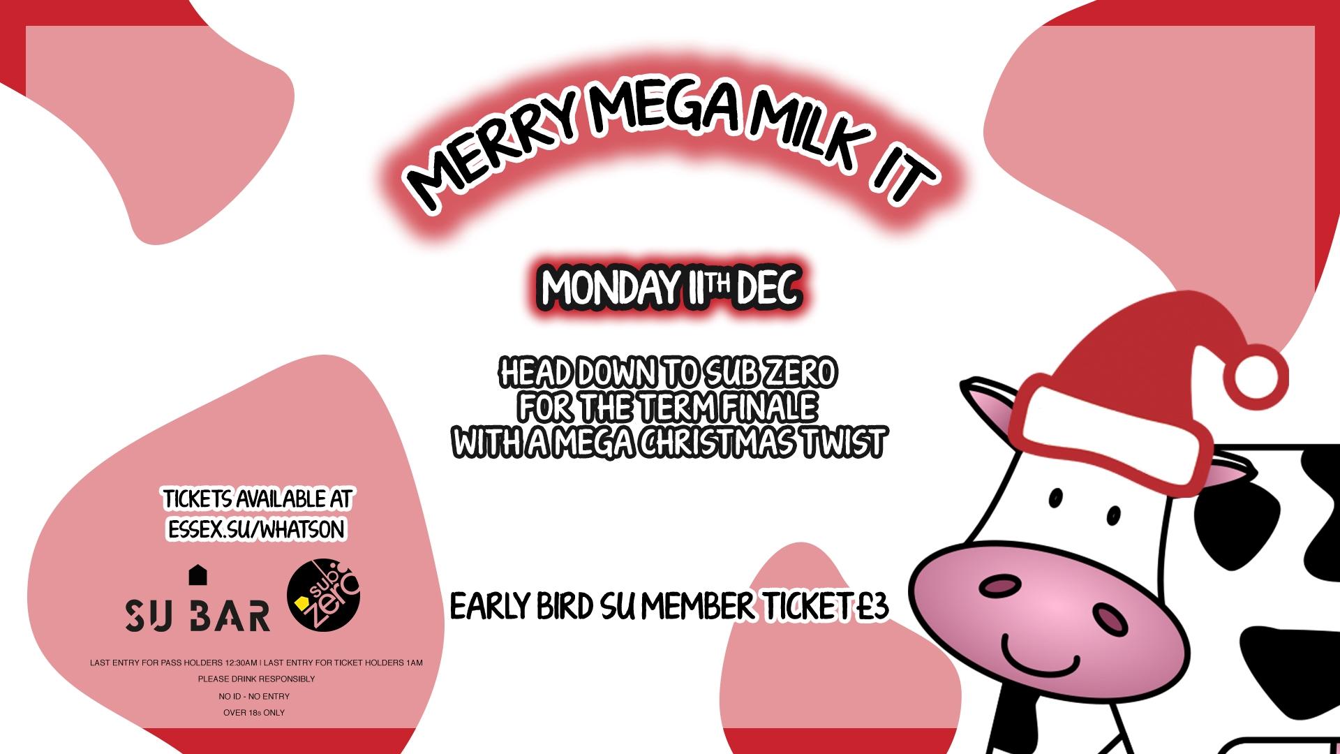merry mega milk it sub zero
