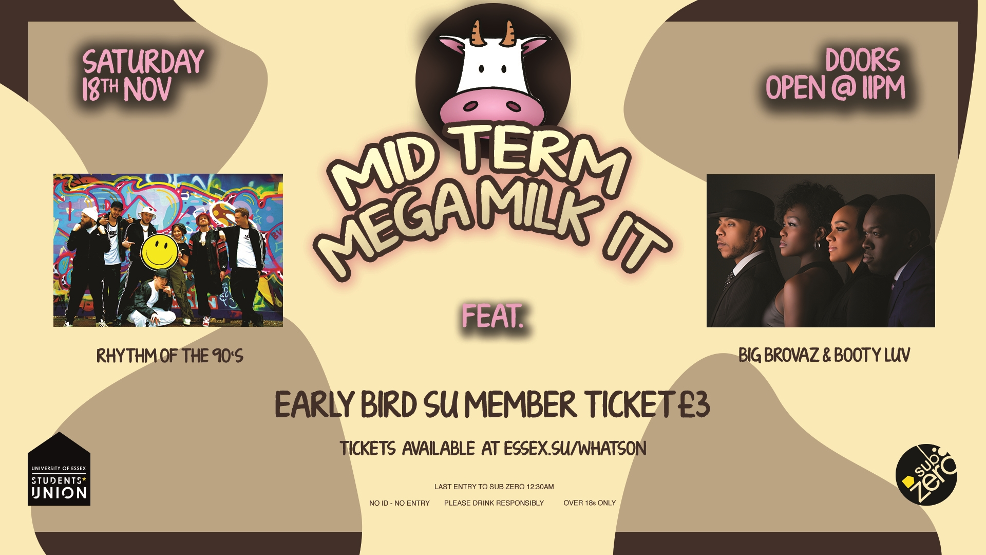 mid term mega milk it with special guests rhythm of the 90 s and