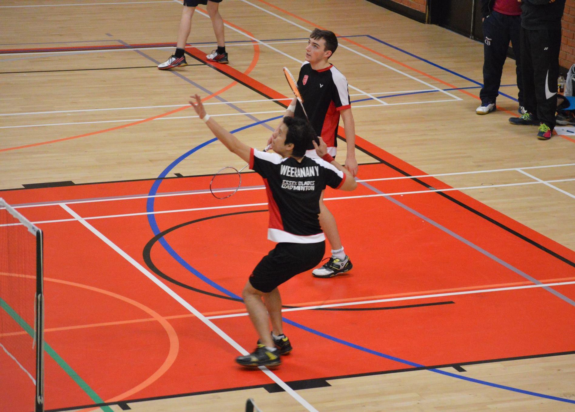 essex badminton team